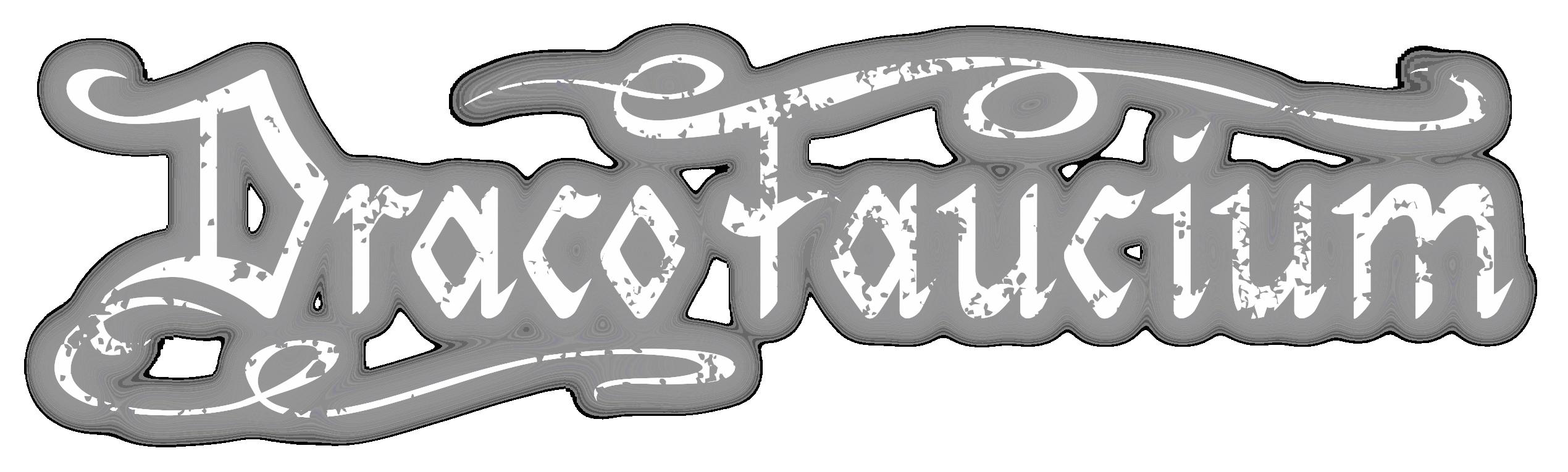 Draco Faucium Mittelalterrock Band Sachsen Erzgebirge Logotext